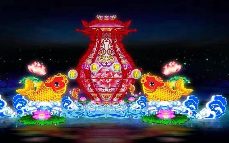 乐山元宵节灯会制作