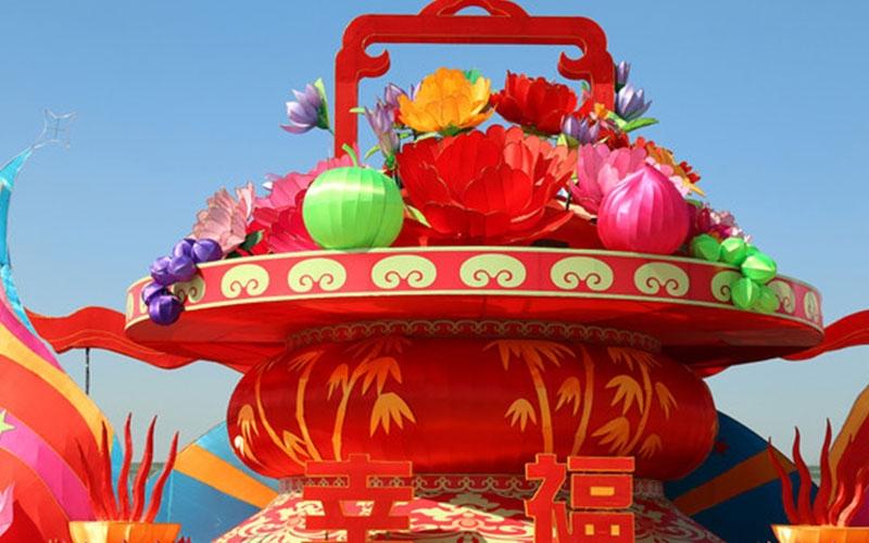 丽水春节花灯