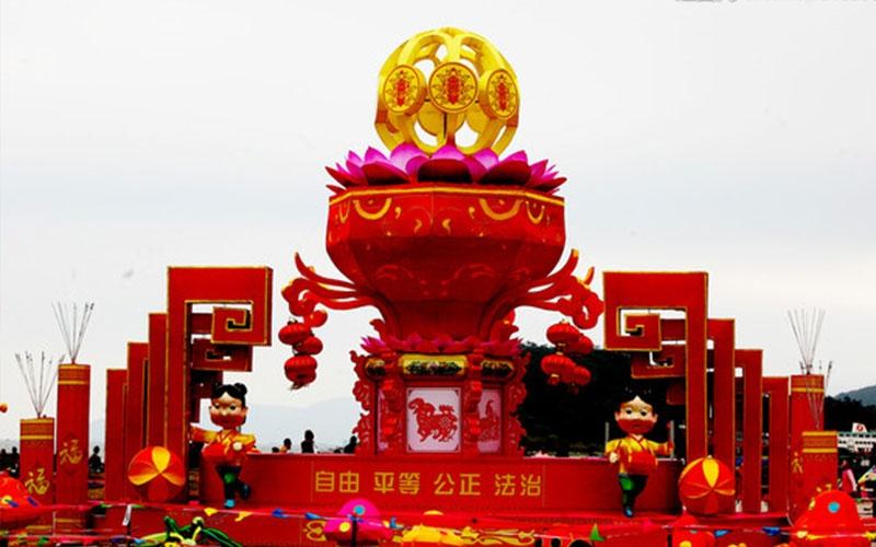 宁波春节花灯