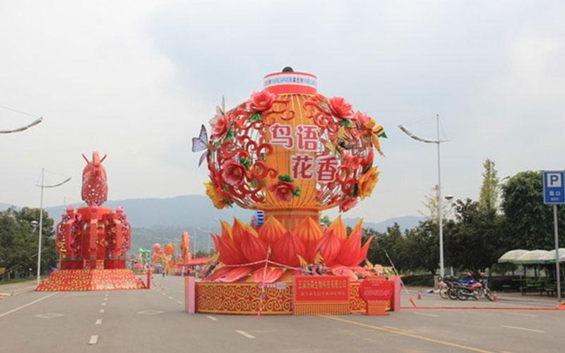衢州春节花灯