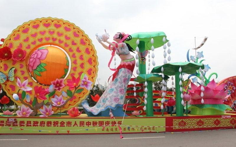 绍兴春节彩灯