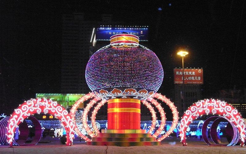 台州春节彩灯