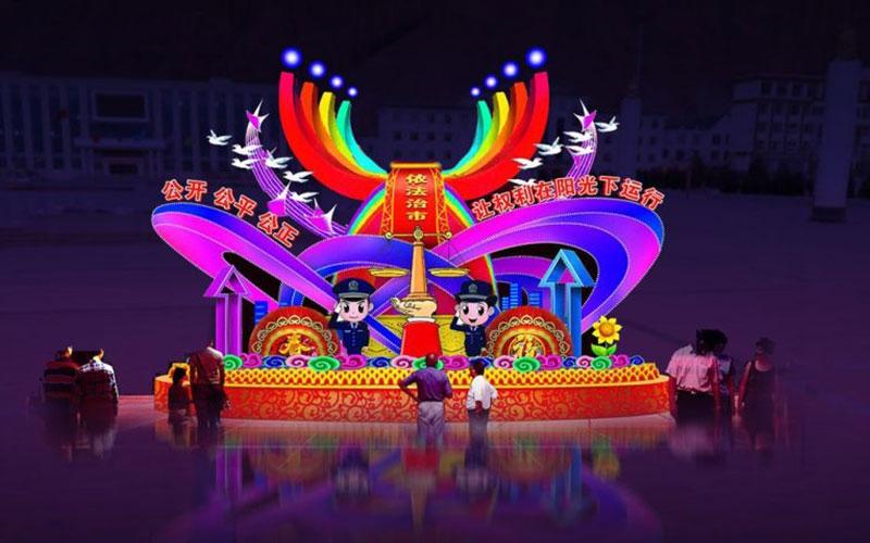 许昌公园彩灯